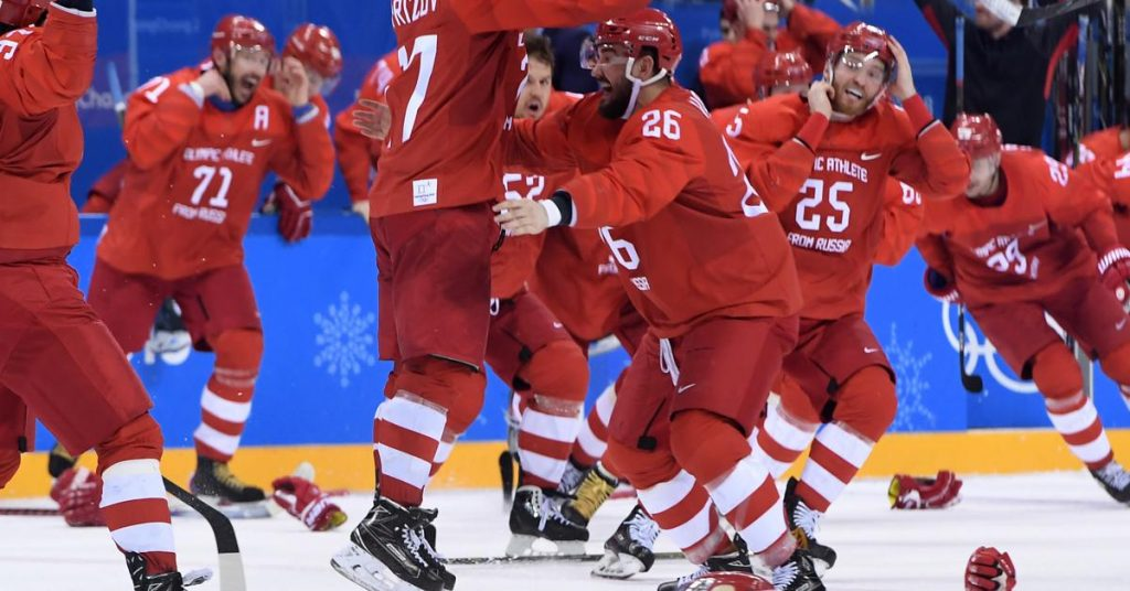 The Russian team won an amazing hockey final!