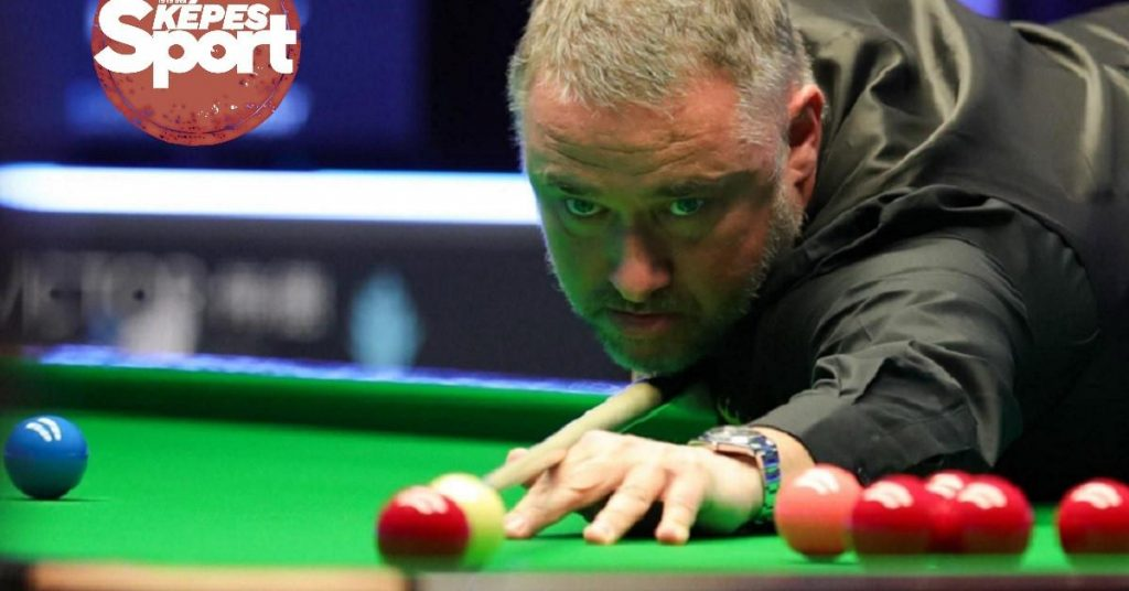 The snooker shark was biting again – Stephen Hendry comes back and back