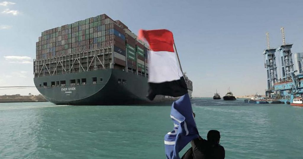 Aldi also waits in vain for the goods trapped in the Suez Canal