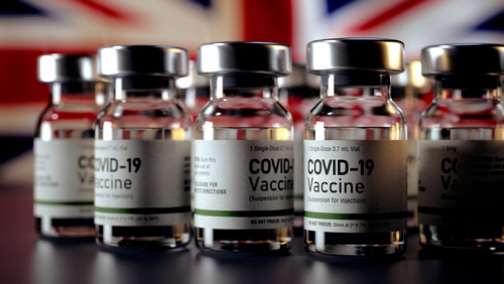 Almost one million people were vaccinated during the UK weekend