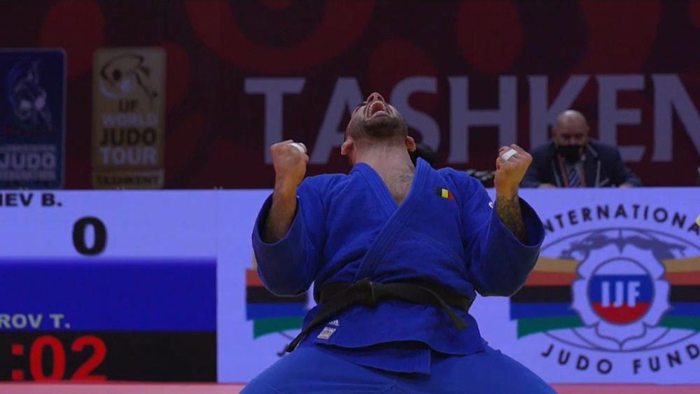 Krisztián Tóth won a bronze medal at Grand Slam in Tashkent
