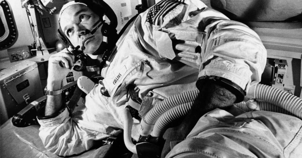 Michael Collins, a member of the Apollo 11 crew, has died