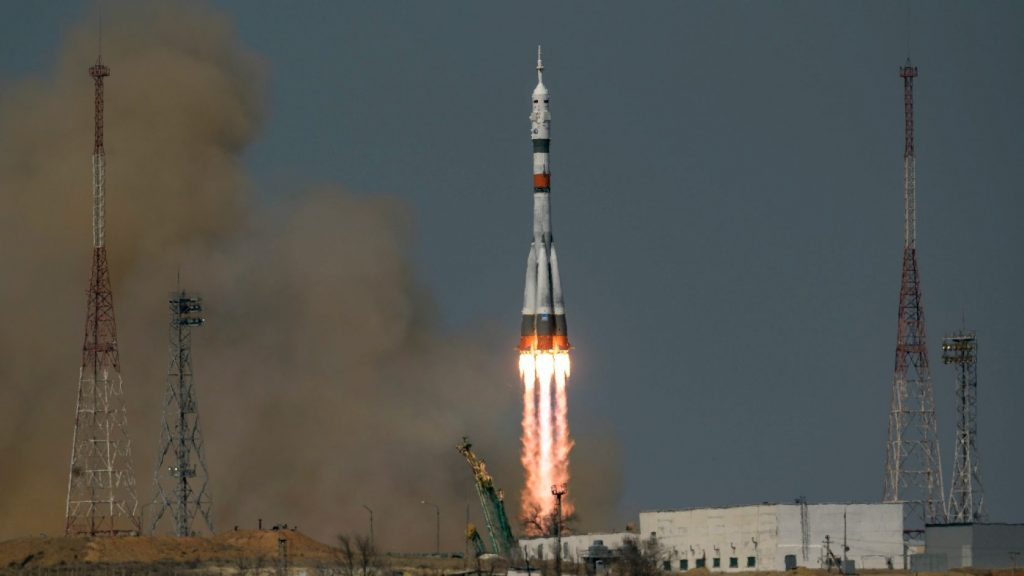 The Gagarin spacecraft has joined the International Space Station