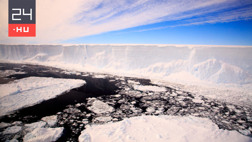 The largest iceberg has melted 24 h