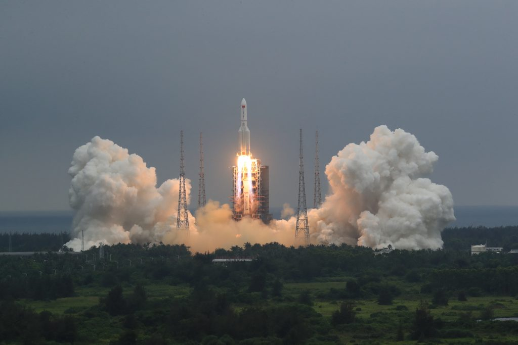 The main unit of the future Chinese space station has been launched