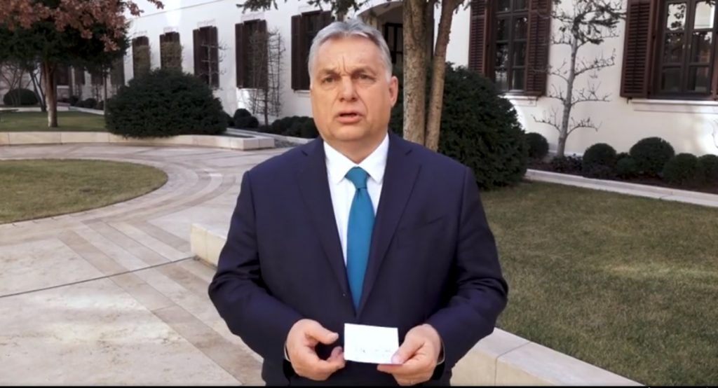 Viktor Orban: We are facing the most difficult two weeks of the epidemic