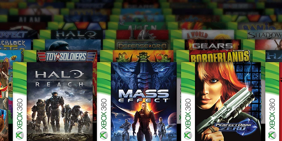We can also play the first generation Xbox and Xbox 360 games from the cloud