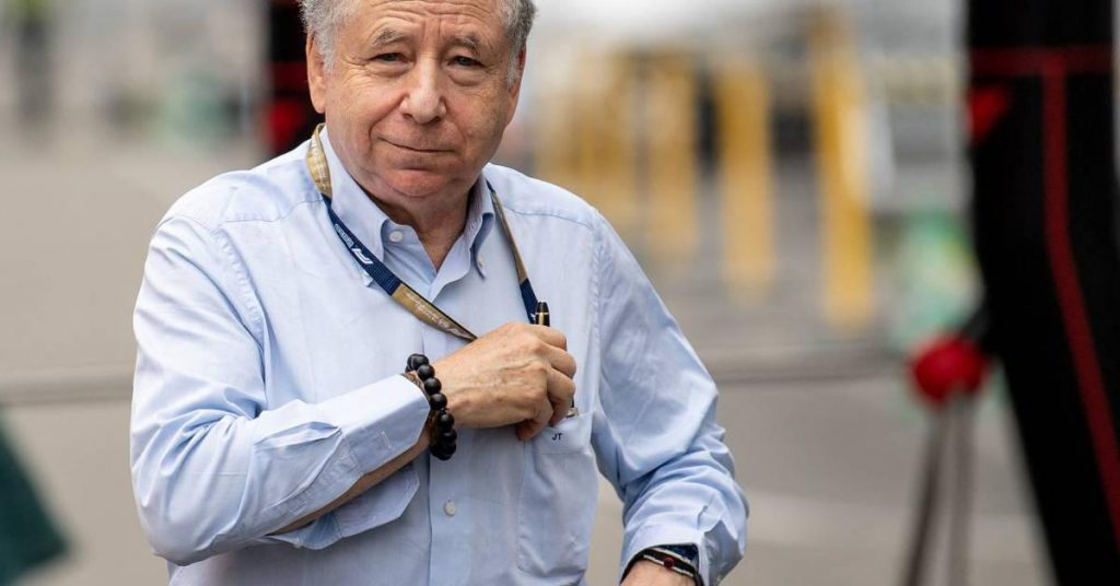 Two are already vying for the position of outgoing FIA president Jean Todt