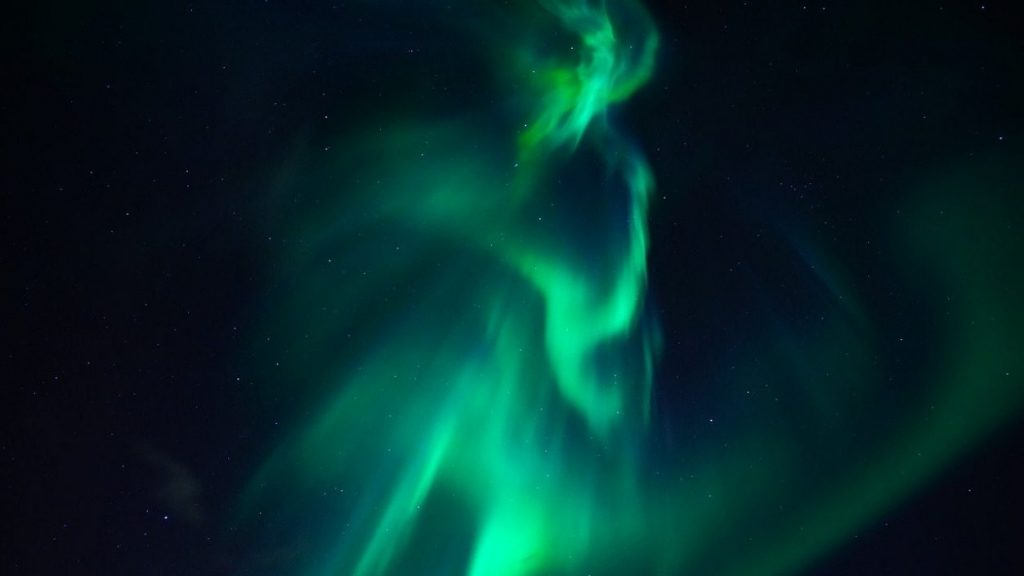 A new type of polar light has been discovered