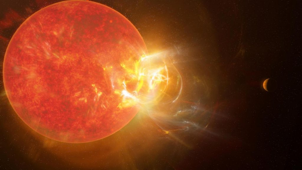 An event that destroyed the world occurred in the neighboring star system