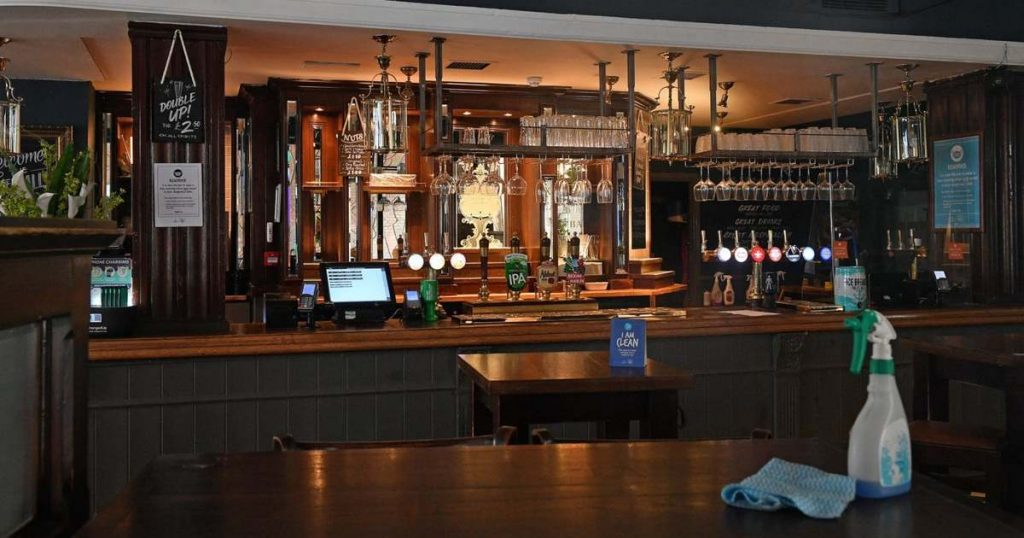 Pubs roam around the new rules in England