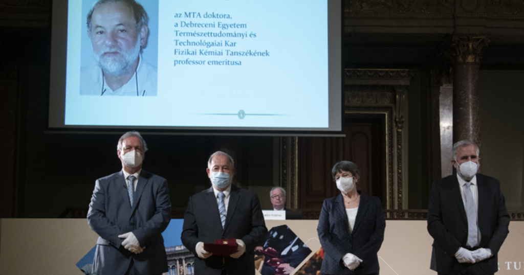 Three professors from Debrecen were awarded the Academic Prize
