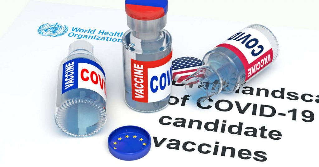 Where are vaccines manufactured in the European Union or in the manufacturing countries?