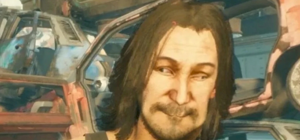 You're laughing at Cyberpunk 2077's developers' bug show!