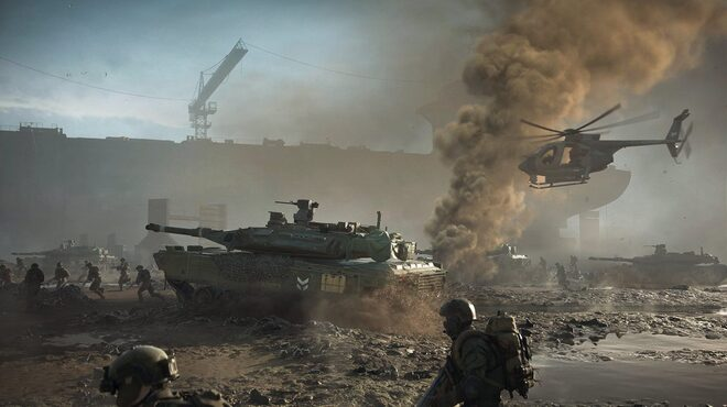 The gameplay offer I received at E3 is Battlefield 2042