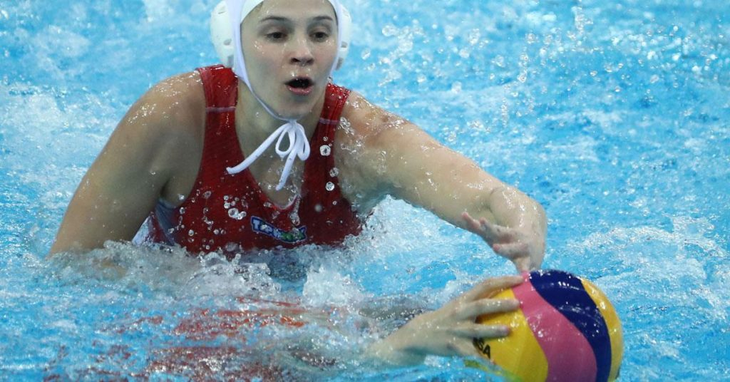 Women's water polo: The Canadians were also pushed out by the Canadians