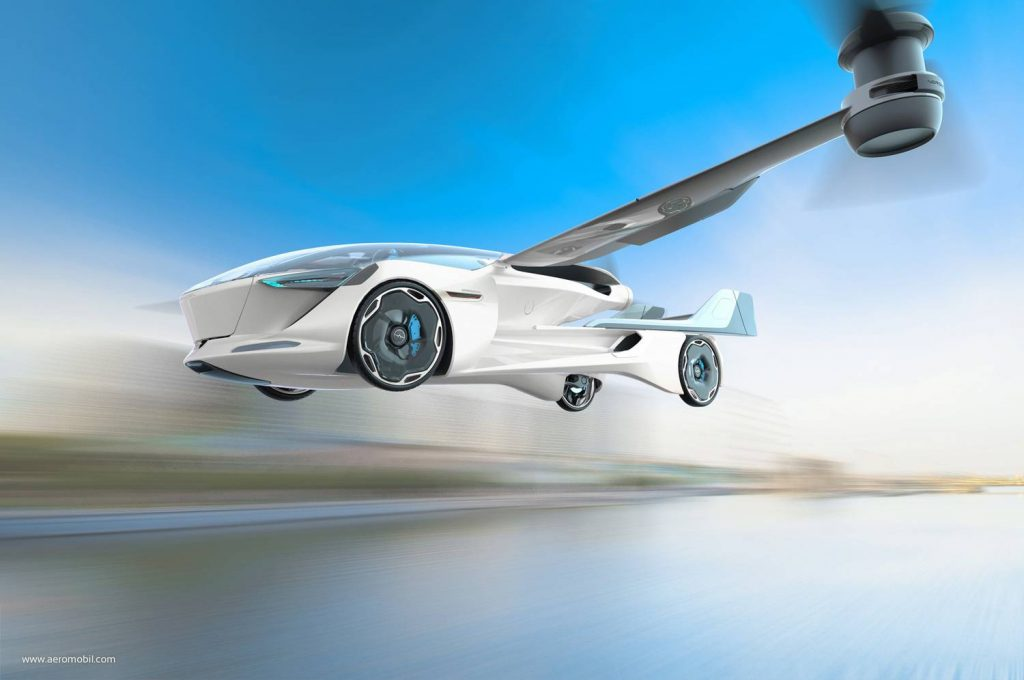 Total Car - Magazine - The new flying car will take off