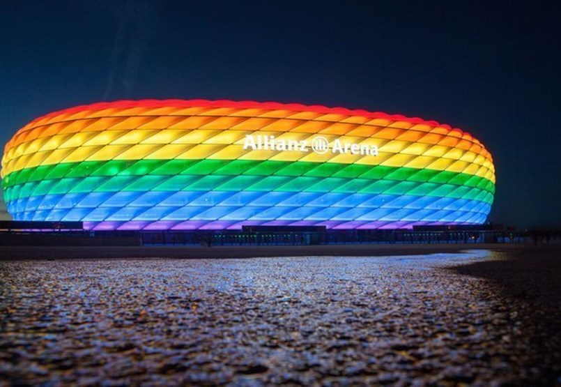 The Munich leadership officially demands that the stadium be illuminated in rainbow colors