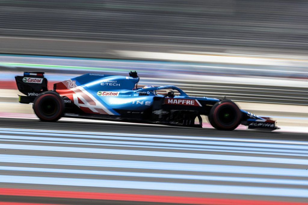 """Alonso after fourth place: """"So far we look at the competition!"""""""