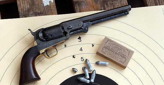 For a (huge) handful of dollars, he became a Czech Colt