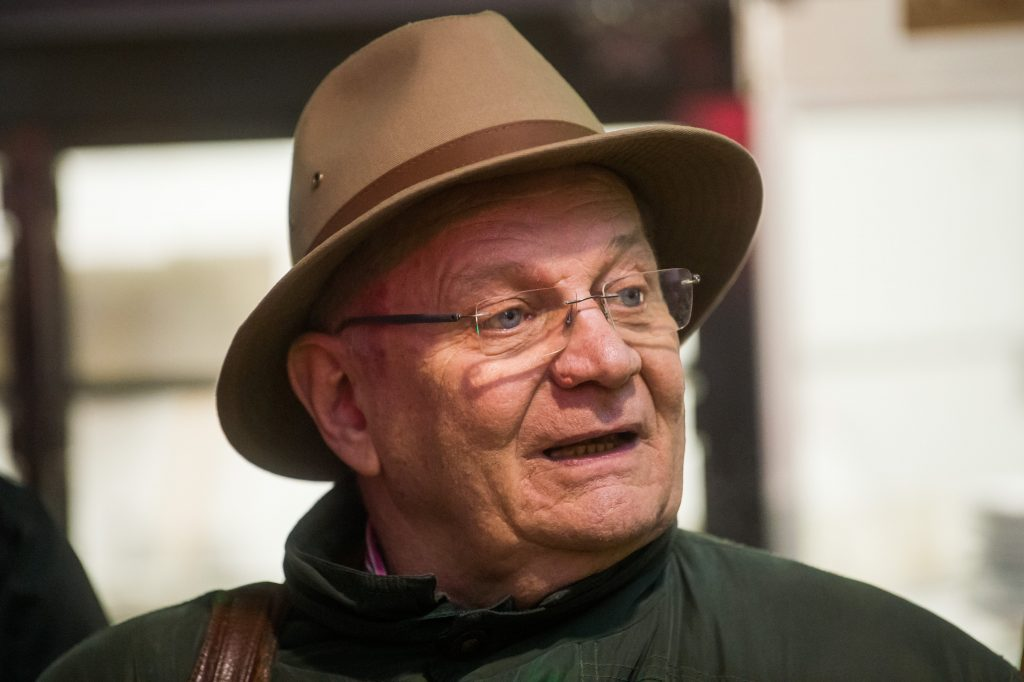 Giza Bermini, Karoly Mix, Mariana Moore and Terry Torday receive Lifetime Achievement Award from the Hungarian Film Academy