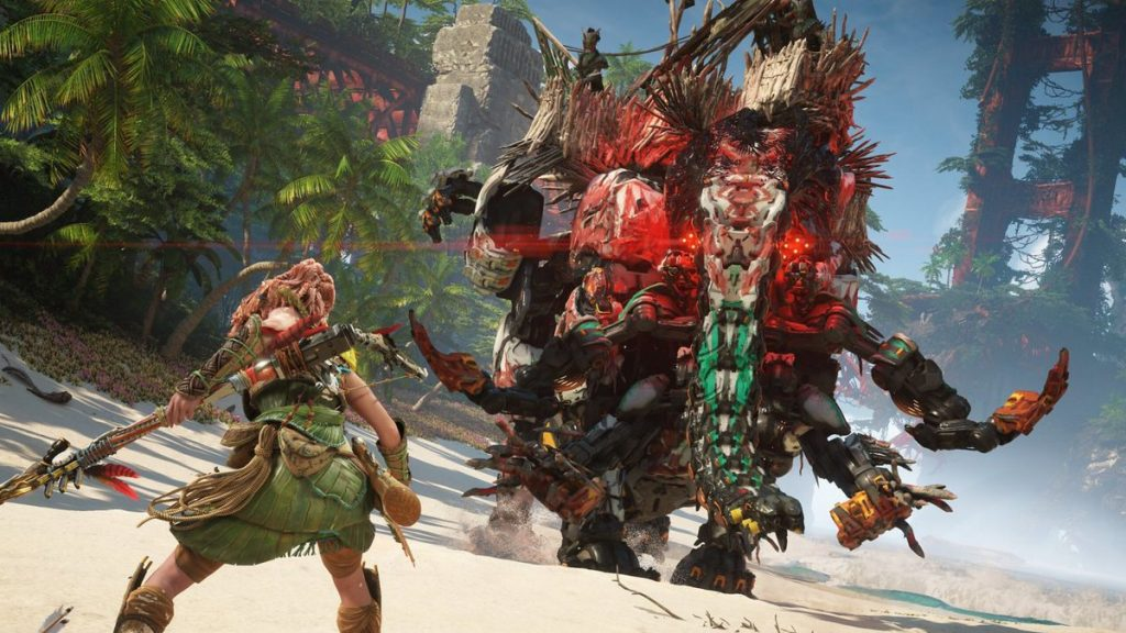 Horizon Forbidden West director said the PS4 release didn't hold back PS5, and even said why