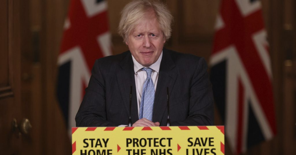Index - Abroad - Boris Johnson: Starting March 8, we will gradually easeخفف