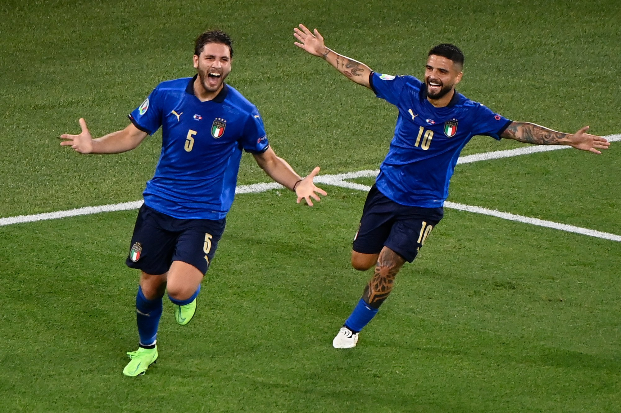 Italy is the first to advance to the European Championship