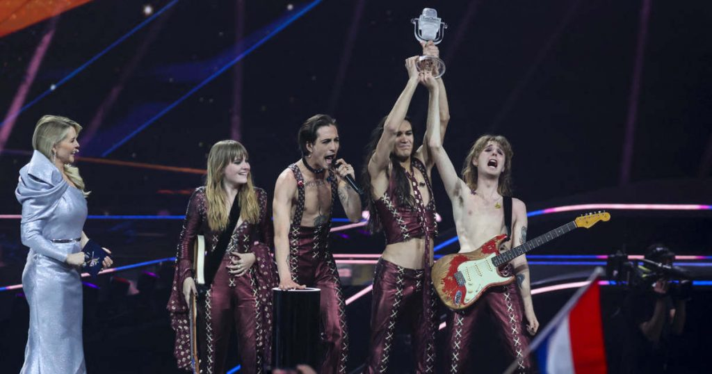 Italy won the Eurovision Song Contest