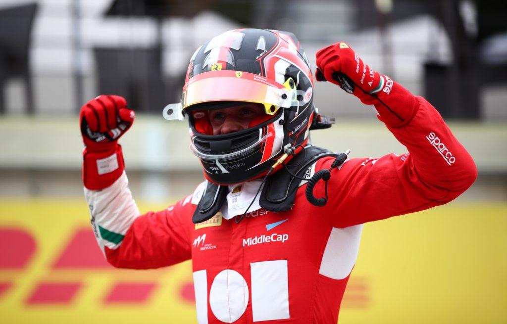 Leclerc won his second sprint race!