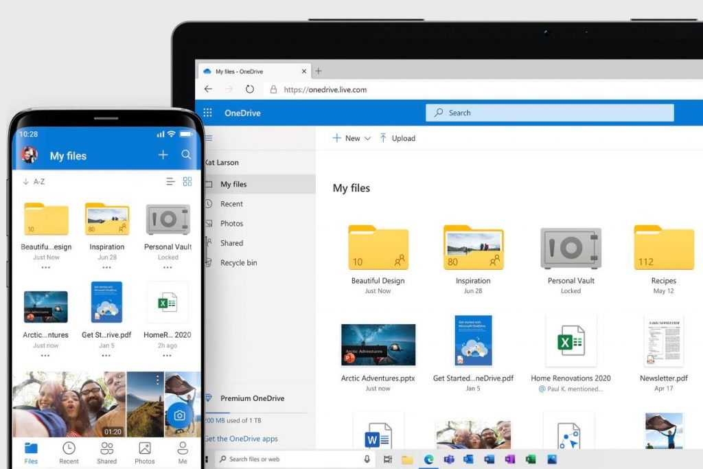 OneDrive has been revamped with photo editing