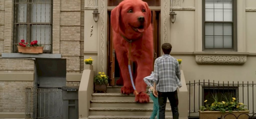 The internet exploded because of a giant red dog because millions of people love it
