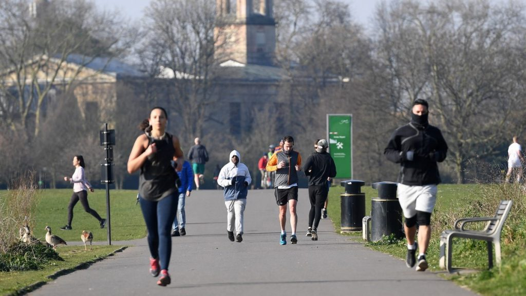 The medical university says exercise is especially important during the pandemic