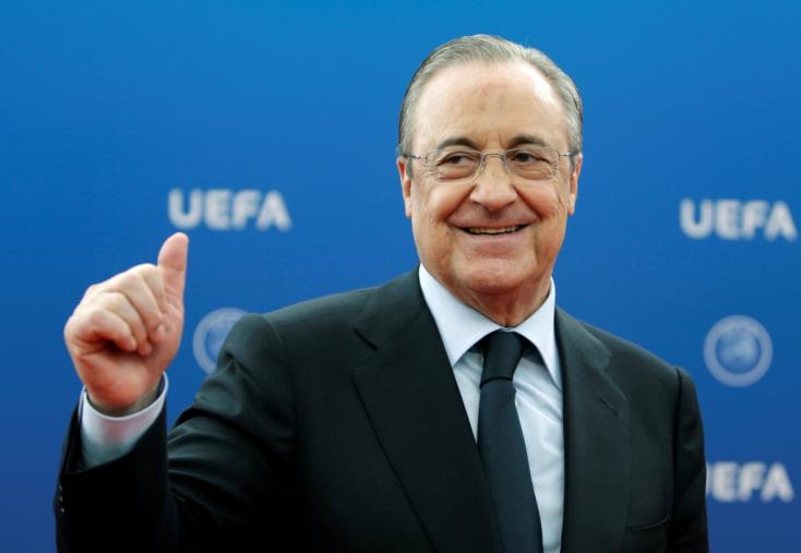 """""""A helyzet az, hogy a klubok nem léphetnek ki"""" - bekeményített a Real Madrid és a Szuperliga elnöke!"""