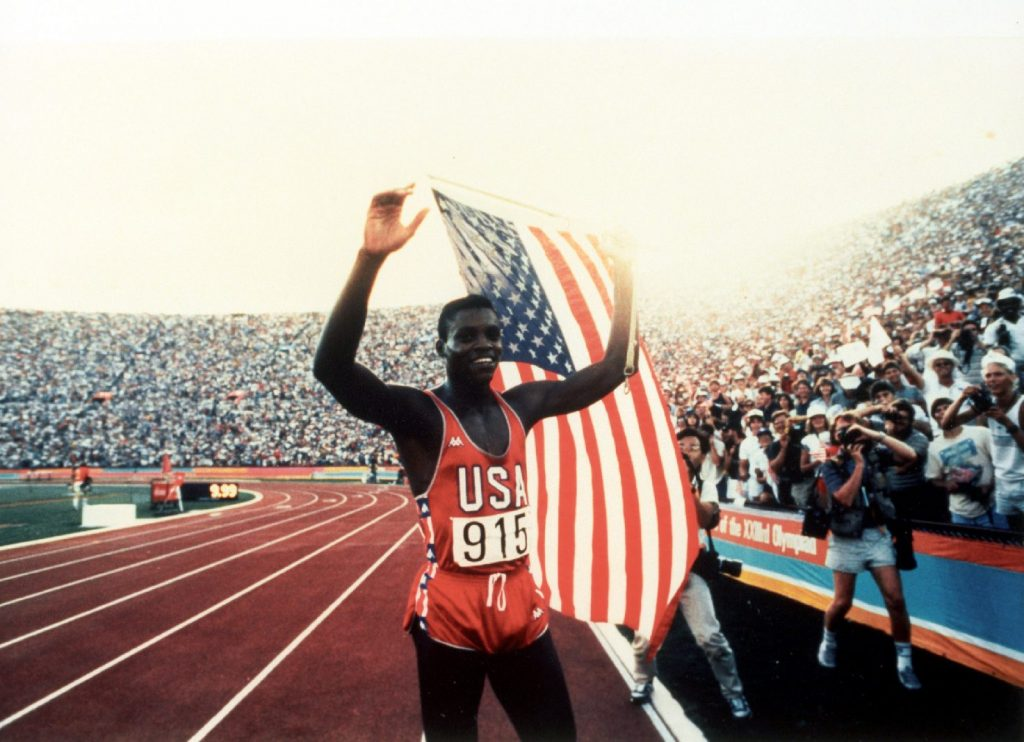 The best athlete of the 20th century - 60-year-old Carl Lewis - won nine Olympic gold medals