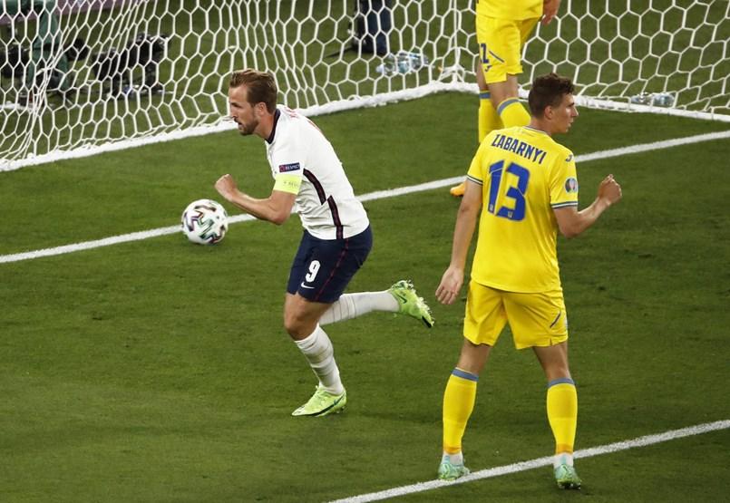Ukraine - England 0-1 - Live broadcast of the European Championship