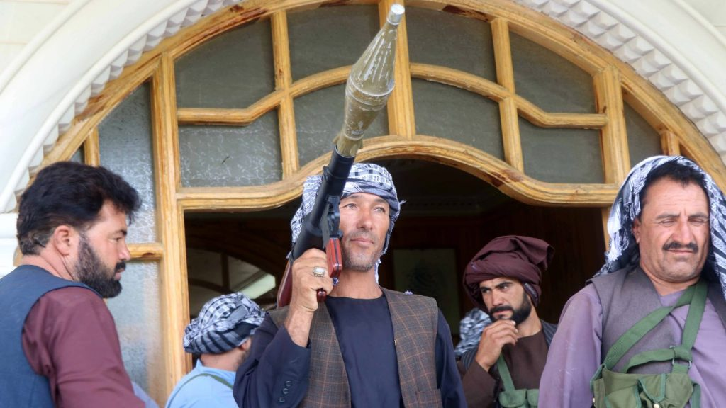 They are facing the Taliban, who are reoccupying Afghanistan