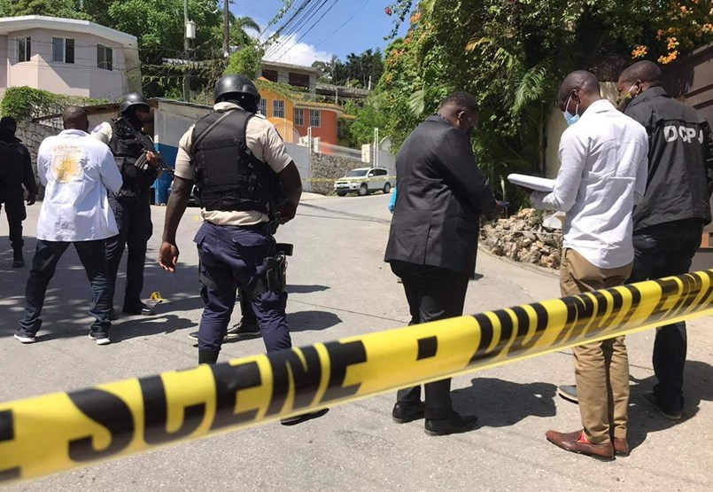 Haiti is a place where quite a few people can hire commandos if they want to kill a boss