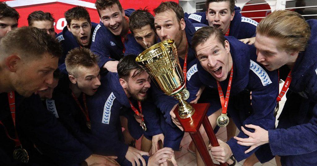 Men in the Water ob I: Szolnok won the championship