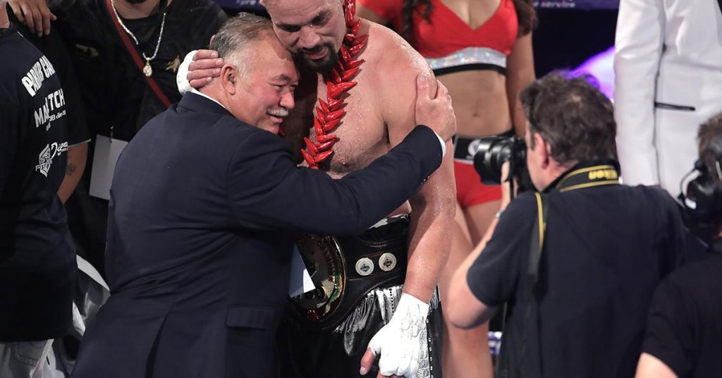 Boxing: Controversial ruling, heavyweight title for Joseph Parker