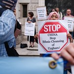 The United States says Chinese products made from Uyghur hair have been confiscated