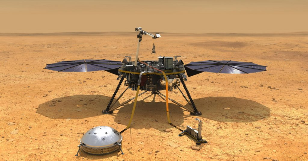 Index - Tech-Science - We were first able to map the internal structure of Mars