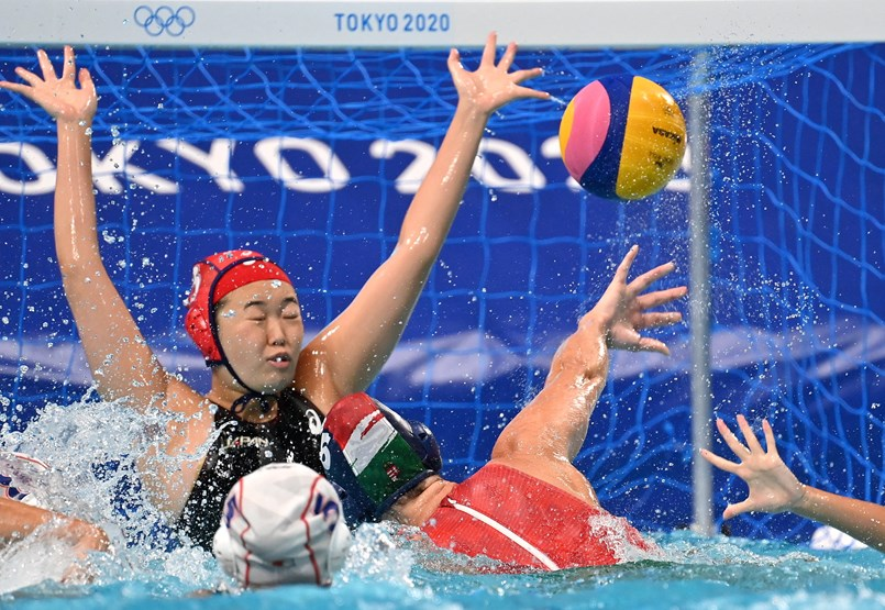The women's water polo team won more than expected, and Laszlo Cie ended his career