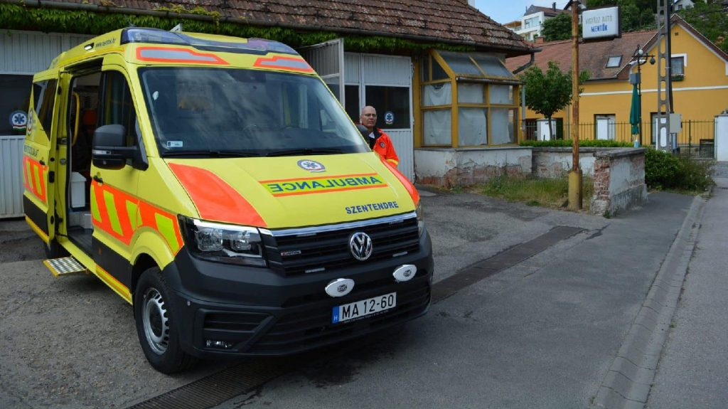 AI is also used in the ambulance service