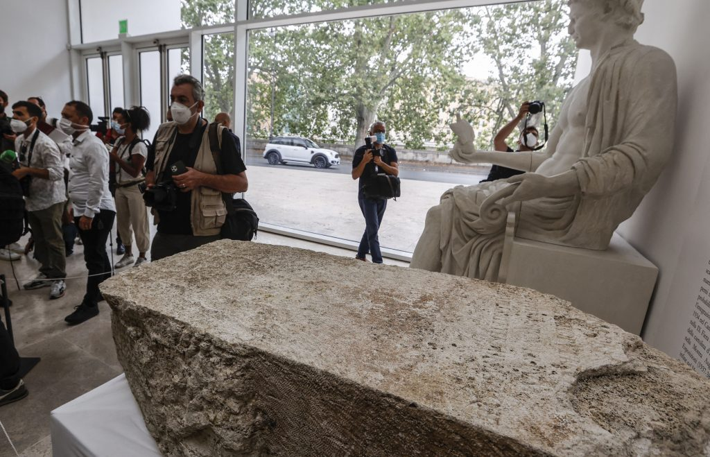 Archaeological finds from the reign of Emperor Claudius have been found in Rome