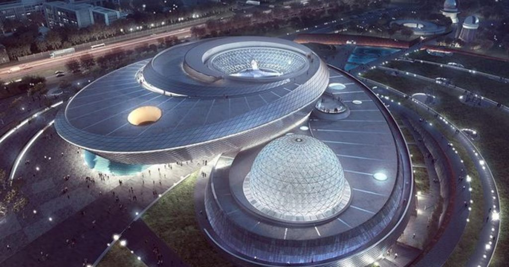 Catalog - Culture - A museum of astonishing size has opened in Shanghai for astronomy enthusiasts