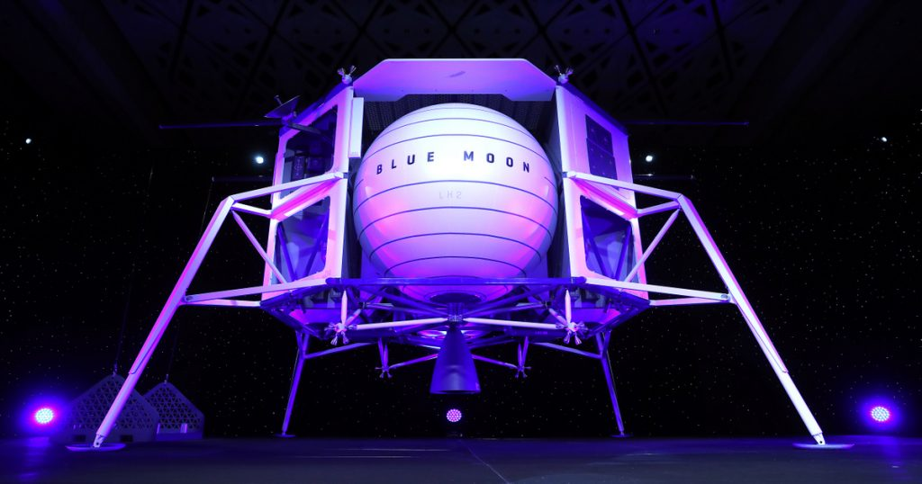 Index – Tech-Science – Bezos offers $2 billion to NASA for Blue Origin's chance on the moon