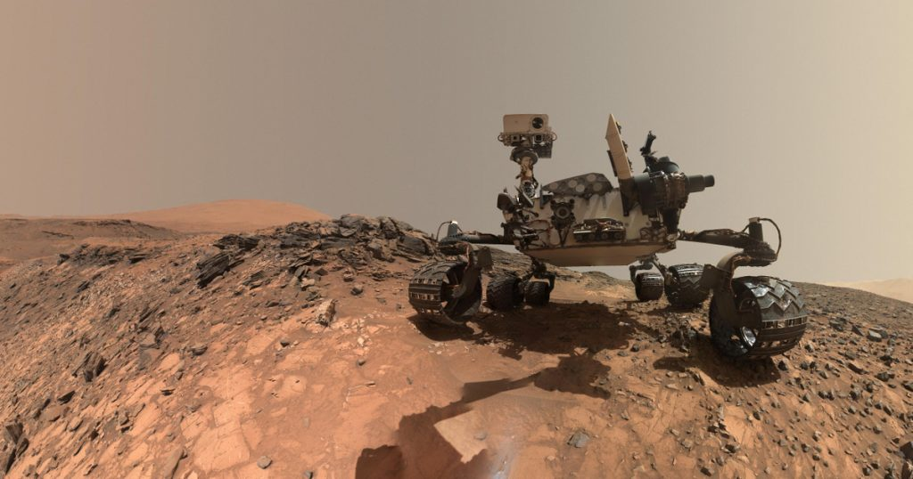 Index - Technical Sciences - Curiosity may have found possible traces of life on Mars