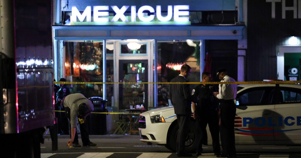 Index – outside – shooting broke out near the White House