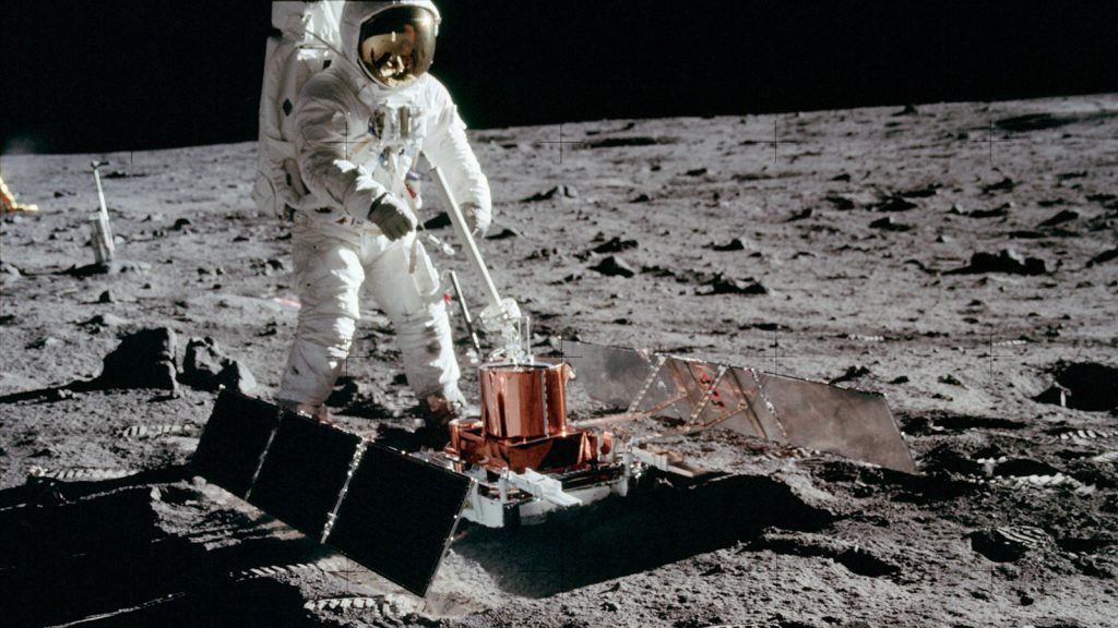 The Apollo 11 launch module can still orbit the moon